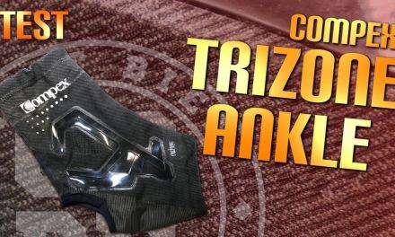 Test chevillère Trizone de Compex