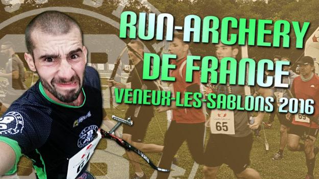 run archery de france 2016 veneux les sablons assl running tir à l'arc cbdb