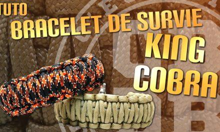 Faire un bracelet de survie King Cobra