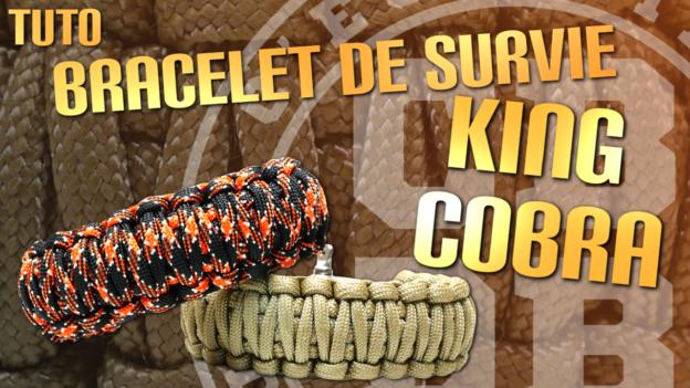 tuto bracelet survie king cobra c'est bien d'être bien cbdb