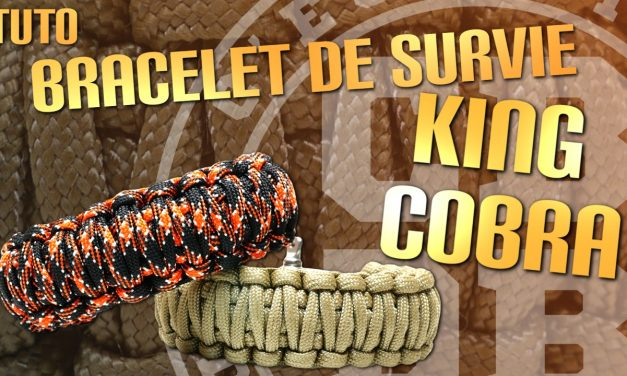 Faire un bracelet de survie King Cobra