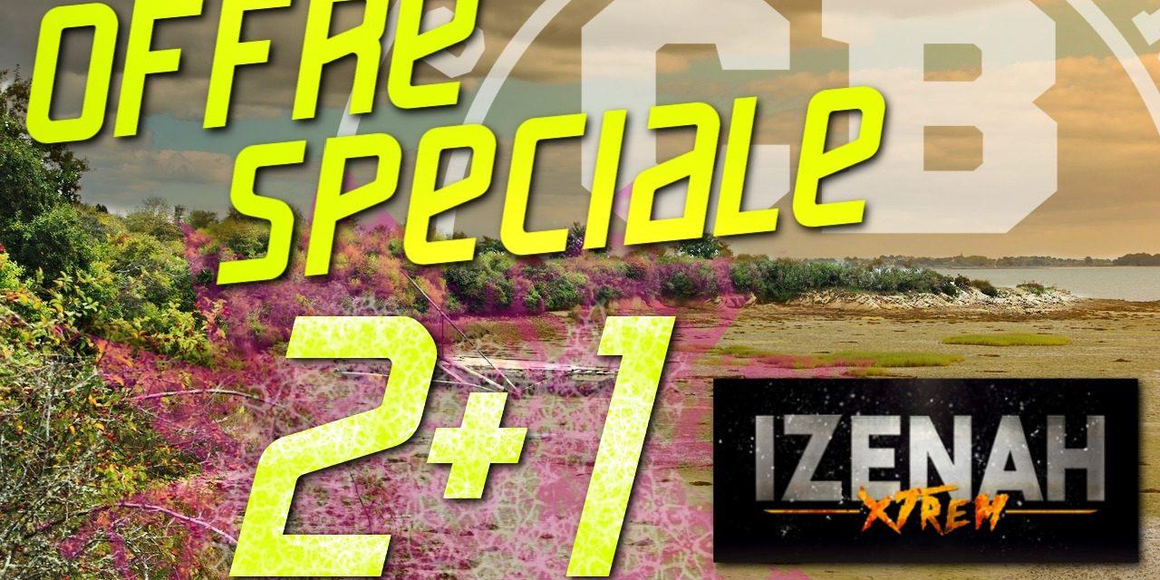 Jamais 2 sans 3 à la Izenah Xtrem