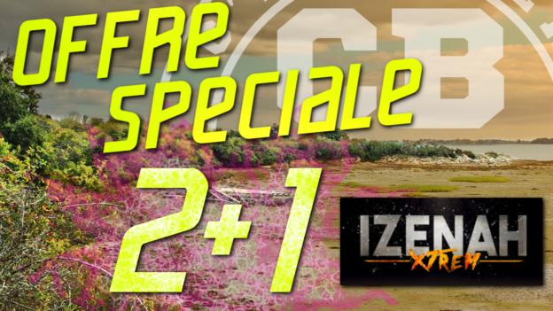 offre spéciale gratuit Izenah Xtrem c'est bien d'être bien cbdb
