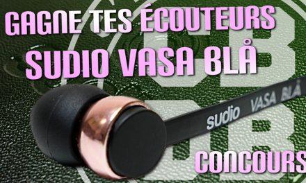 1 paire d'écouteurs Bluetooth Sudio Vasa Blå à gagner