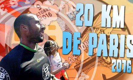 Les 20 Kilomètres de Paris 2016