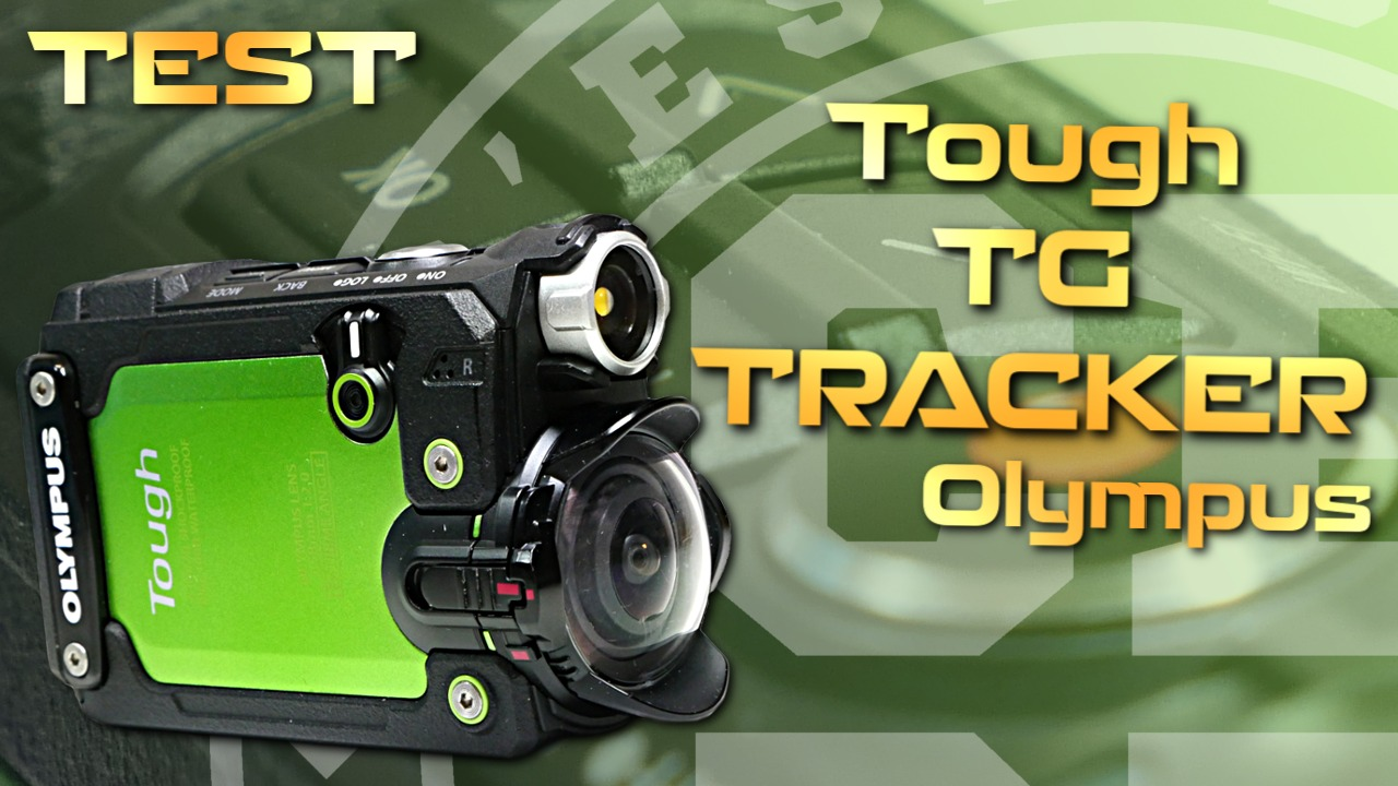 Test action-cam Olympus Tough TG-Tracker