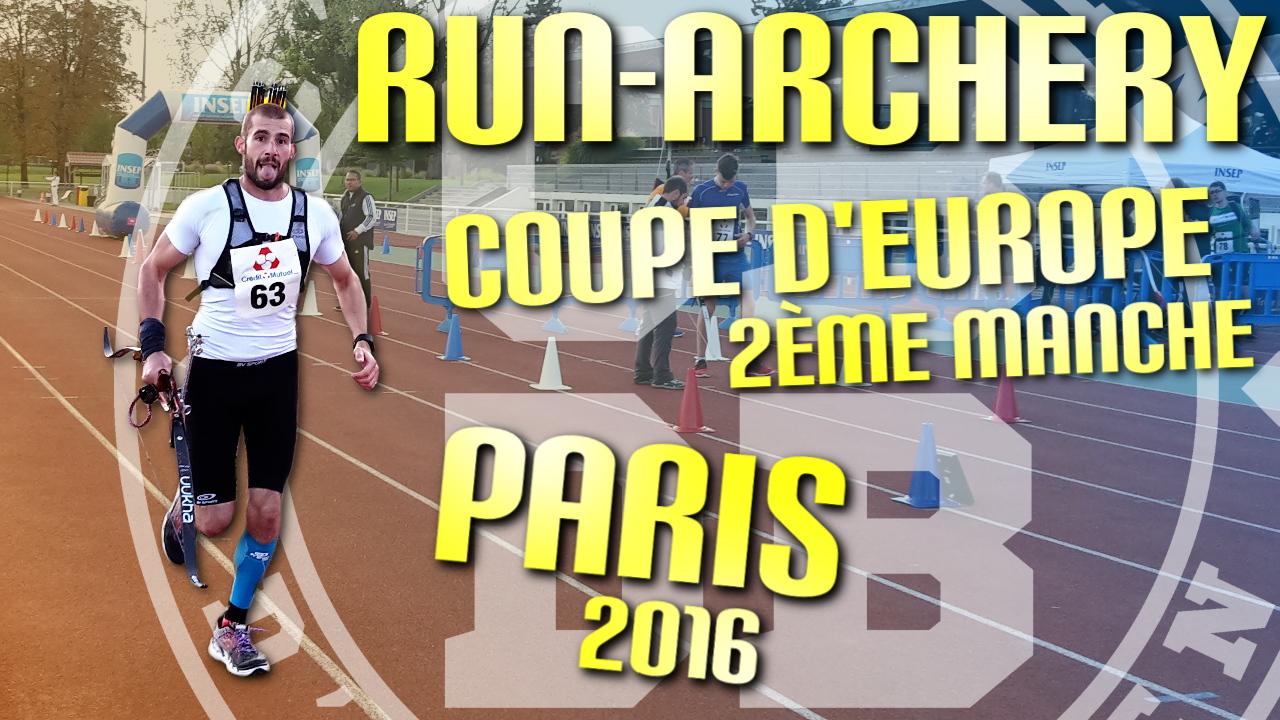 Coupe d'Europe de Run Archery – 2ème manche – Paris 2016