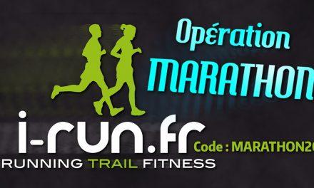 Opération Marathon chez I-Run