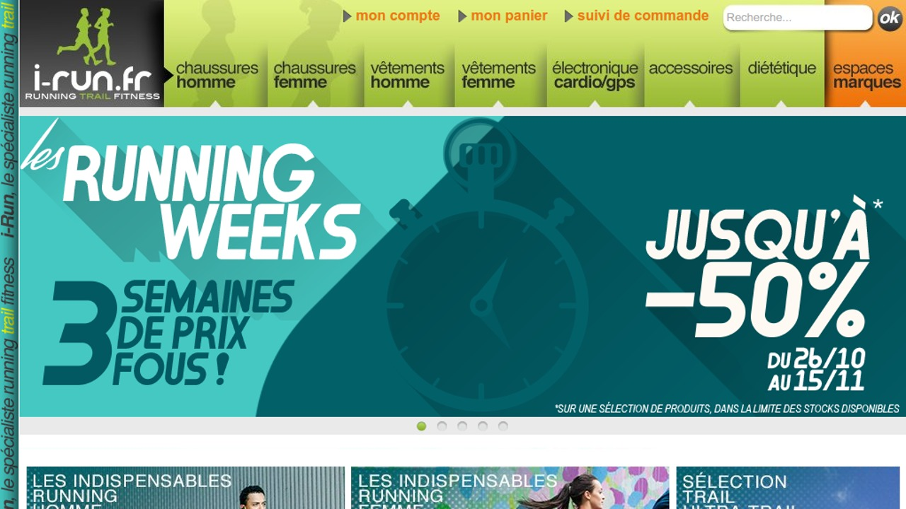 Les Running Weeks chez I-Run