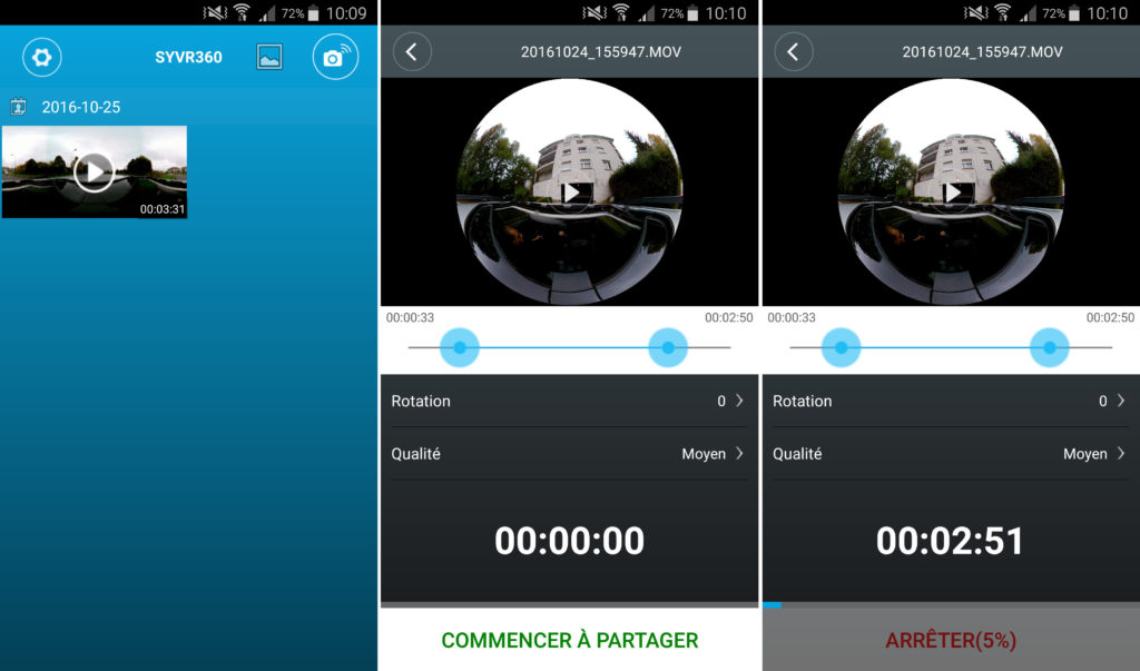 test xpro360+ tectectec caméra video 360 vr c'est bien d'être bien cbdb