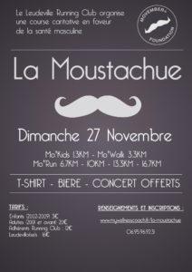 concours la moustachue leudeville movember c'est bien d'être bien cbdb