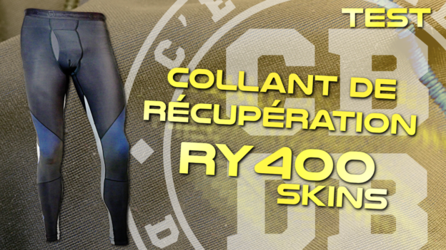 test collant récupération skins ry400 c'est bien d'être bien cbdb