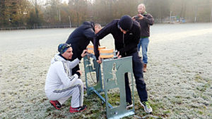 run archery wageningen hollande 2016 c'est bien d'être bien cbdb