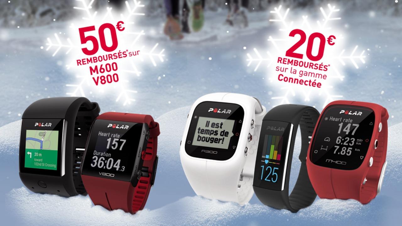Offre de remboursement Polar pour Noël