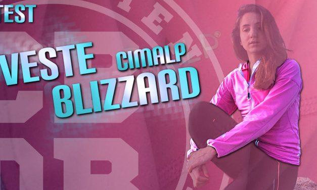 Test veste trail Blizzard de Cimalp