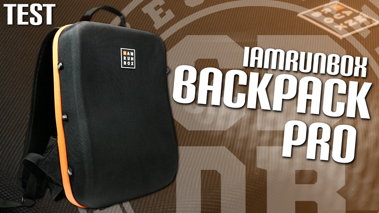 Test Backpack Pro de IAMRUNBOX