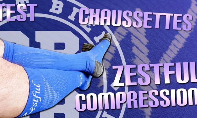 Test chaussettes de compression Zestful