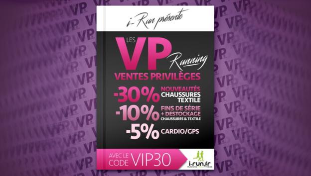 code promo vp running vip30 i-run c'est bien d'être bien cbdb