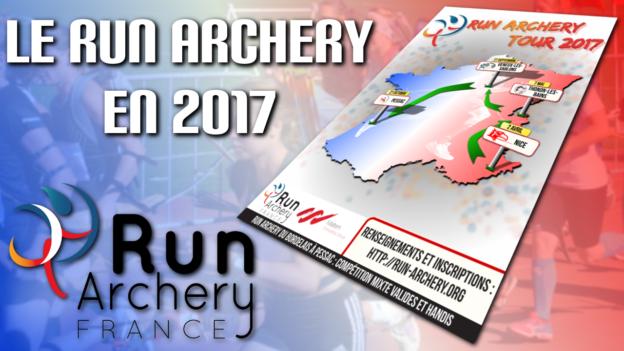 run archery tour 2017 c'est bien d'être bien cbdb