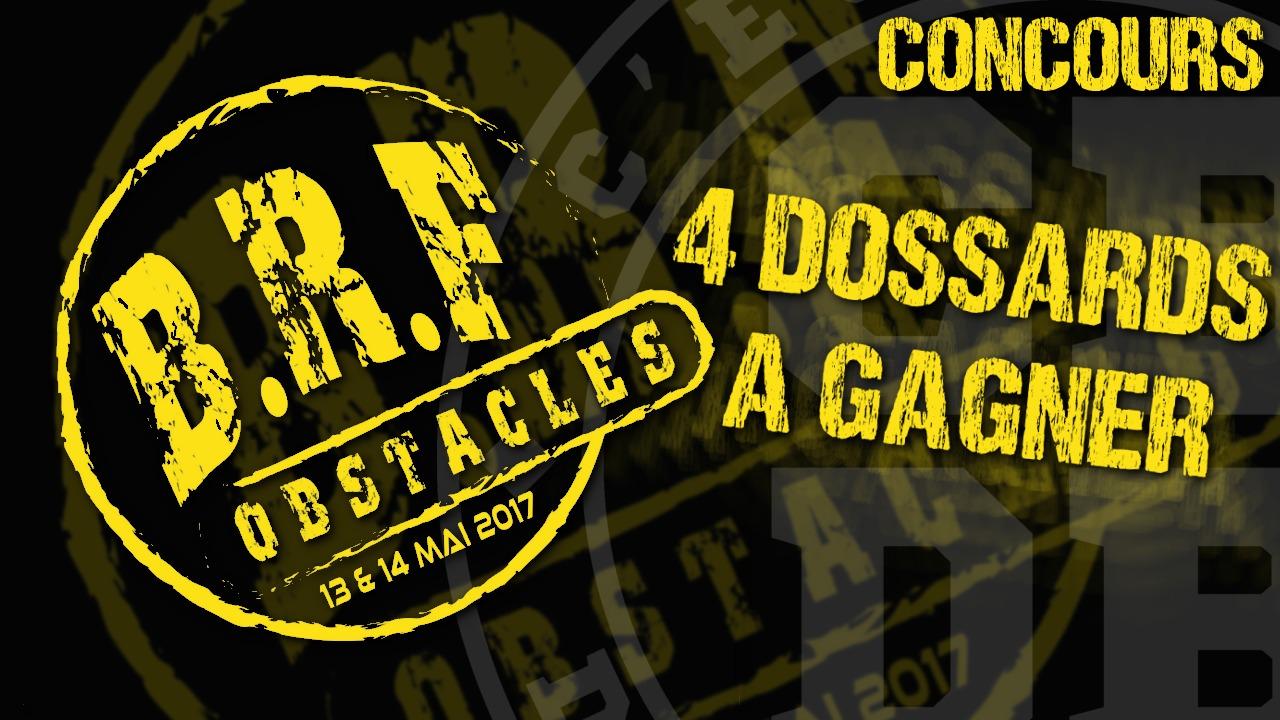 BRF Obstacles – 4 dossards à gagner