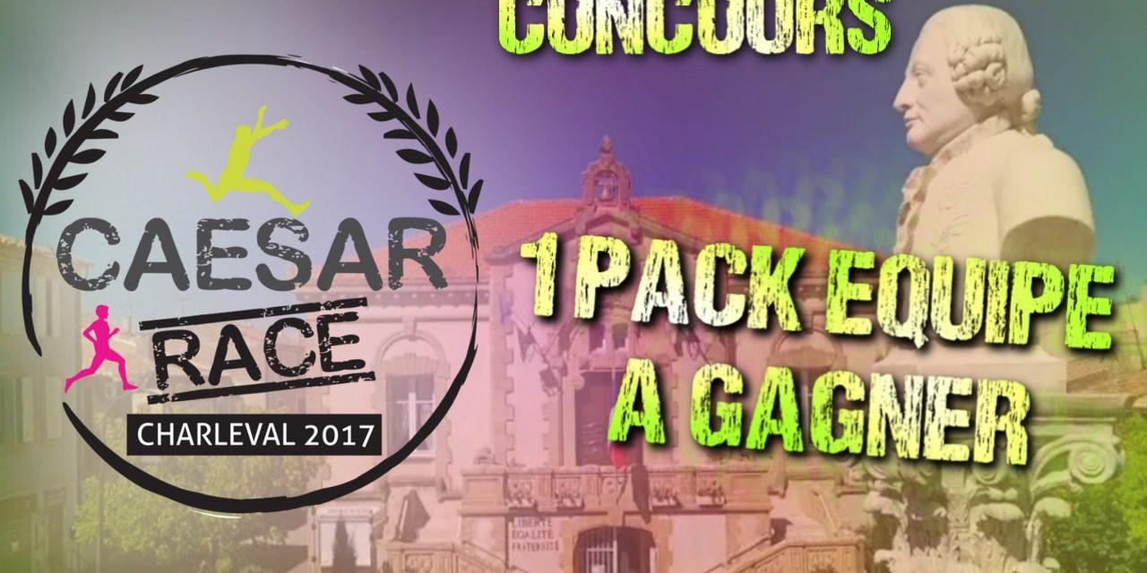 Caesar Race – 1 pack équipe à gagner
