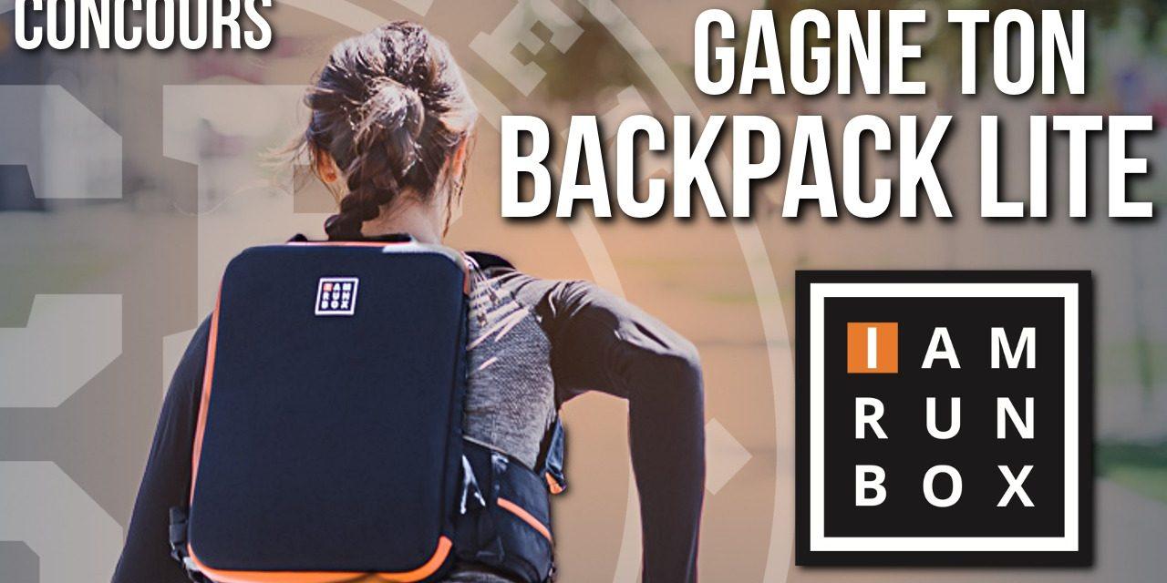 Gagne ton Backpack Lite IAMRUNBOX