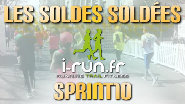 code promo i-run sprint10 soldes c'est bien d'être bien cbdb