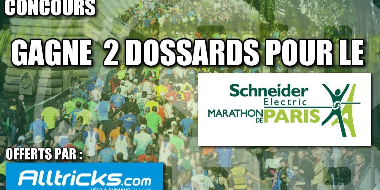 2 dossards à gagner pour le Marathon de Paris