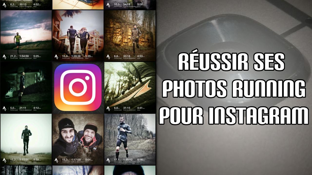 Réussir ses photos running pour Instagram
