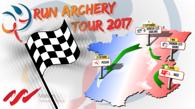 inscriptions run archery tour 2017 c'est bien d'être bien cbdb