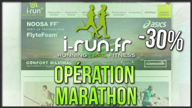 code promo running i-run marathon 42km c'est bien d'être bien cbdb