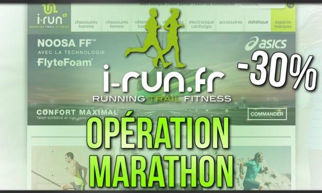 Opération Marathon 42KM chez I-Run