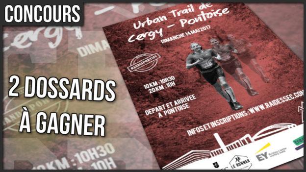 concours urban trail cergy pontoise 2017 c'est bien d'être bien cbdb