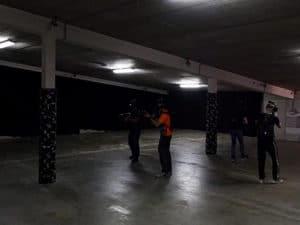 de vr arcade amsterdam zombie walking dead realité virtuelle c'est bien d'être bien