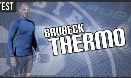 Test sweat-shirt Thermo de Brubeck