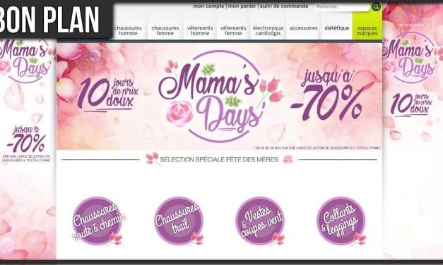 Les Mama's Days chez I-Run