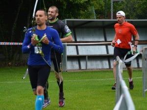 run archery chablais thonon haute savoir running tir à l'arc c'est bien d'être bien