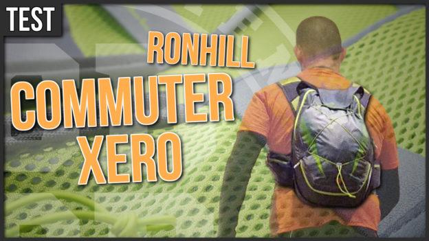test ronhill commuter xero sac à dos urbain running course à pied c'est bien d'être bien