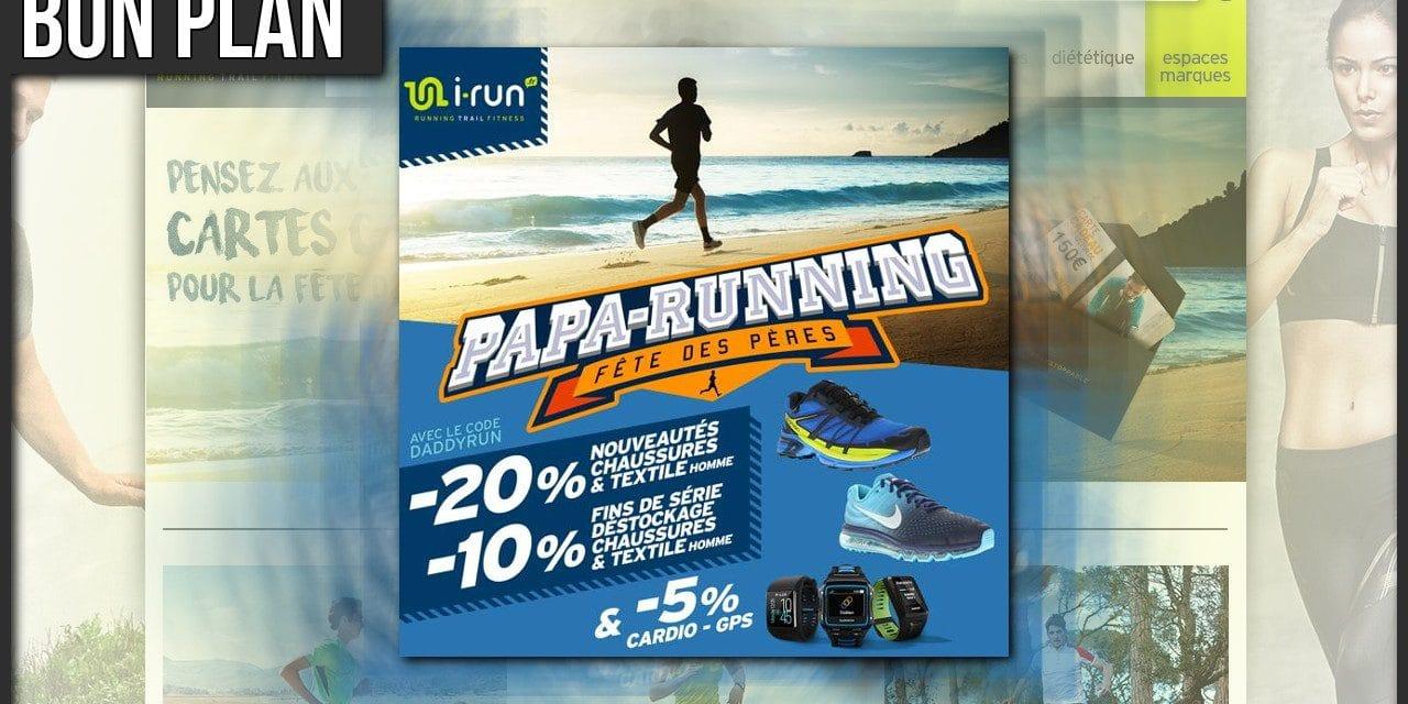 La fête des Papas Running chez I-Run