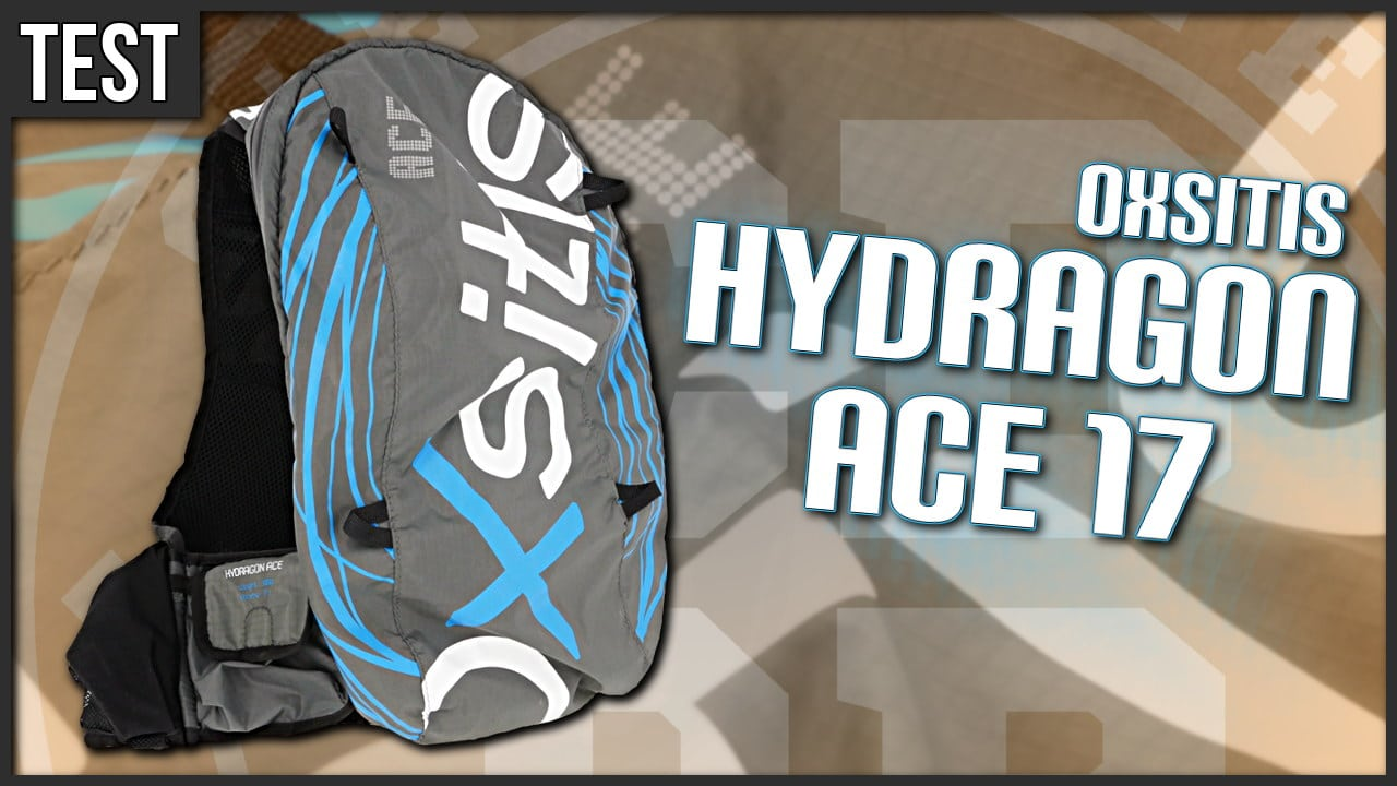 Test sac hydratation Hydragon ACE 17 de Oxsitis