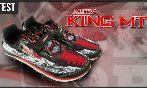 Test chaussures trail Altra King MT