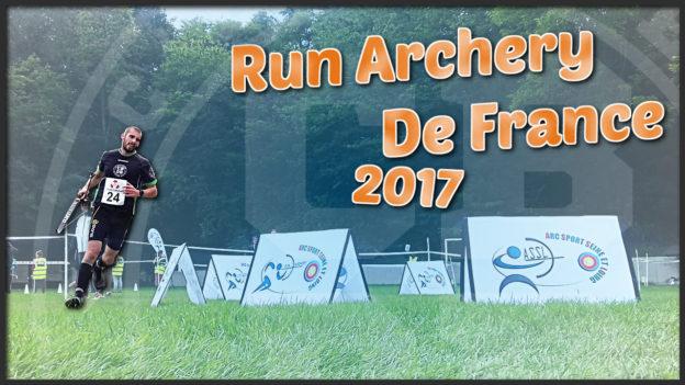 run archery de france 2017 running tir à l'arc c'est bien d'être bien