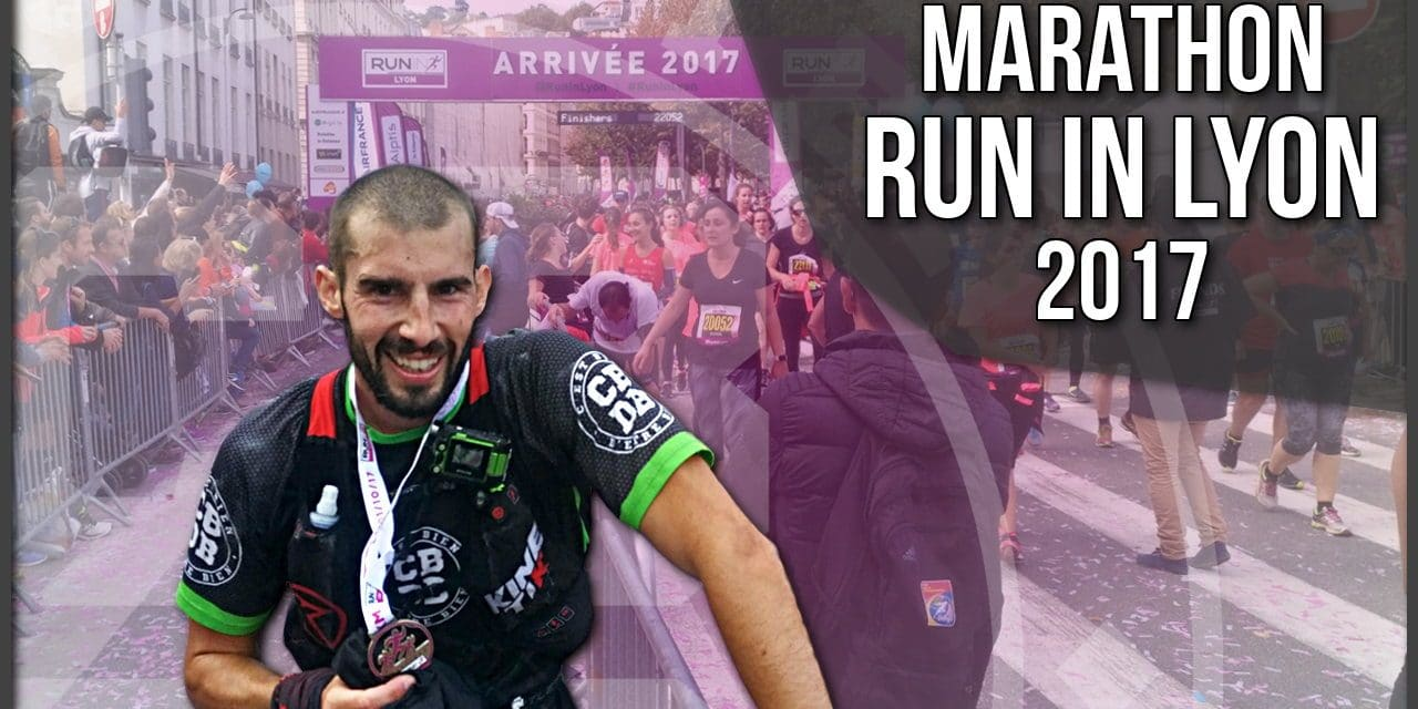 Marathon Run In Lyon 2017