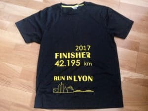 marathon run in lyon 2017 running course a pied