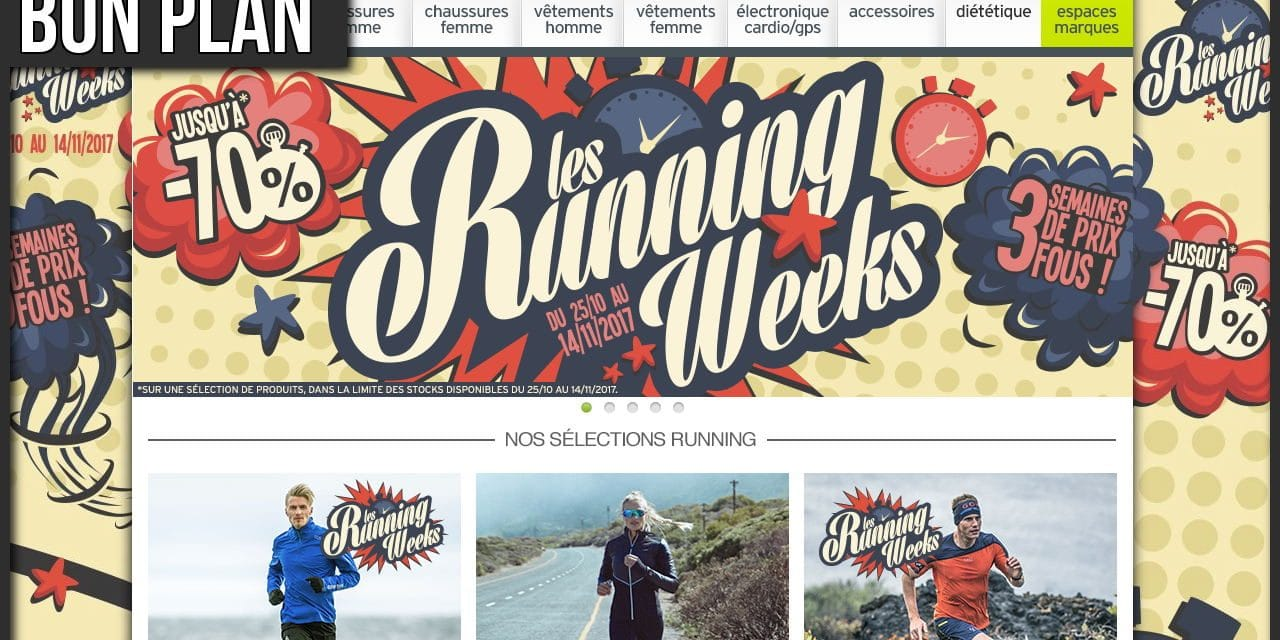 Les Running Weeks Automne Hiver