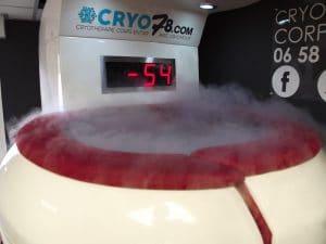 test cryothérapie corps entier cryo78 sport running c'est bien d'être bien