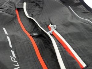 test cimalp skin vest gilet coupe vent trail running