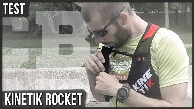 test kinetik rocket sac à dos gilet hydratation running trail c'est bien d'être bien