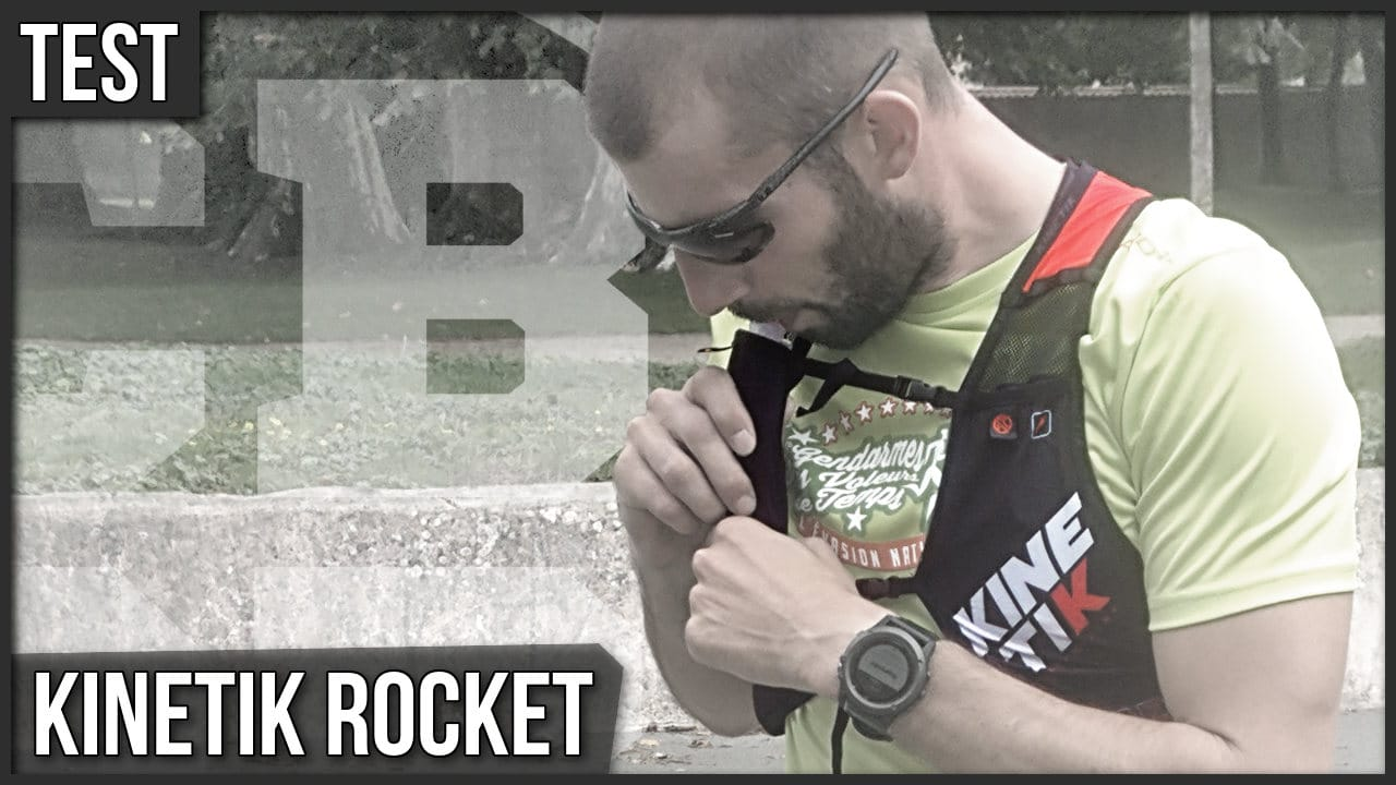Test gilet d'hydration Kinetik Rocket