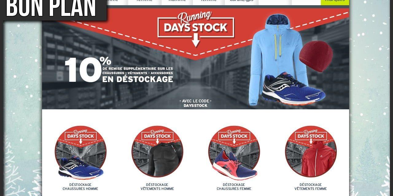Opération Days Stock chez I-Run